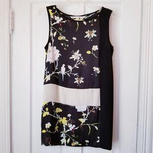 Rachel Roy Sleeveless Mini Dress Floral Shift